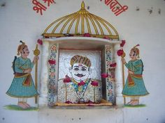 Street Shrine, Udaipur photo by Peter Hastwell