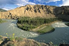 Picture of the Chilcotin River in Farewell Canyon British Columbia, Canada.