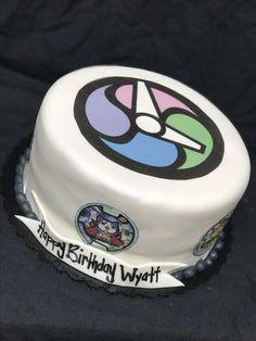 Yo Kai watch birthday cake