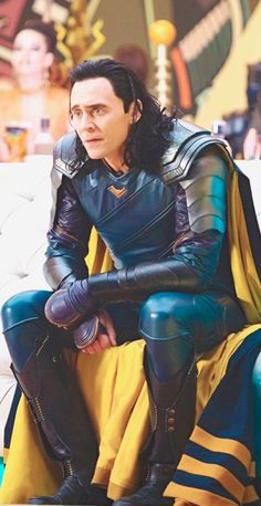 Poor Loki, it's pretty obvious how terrified he still is of Hulk years after his encounter with him. I felt kinda bad for laughing at him throughout this scene but his expressions were so priceless I couldn't help myself
