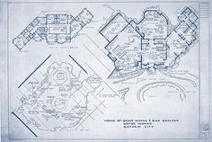 Oh yeah... This is def the blueprints to Wayne Manor... Score! Found my future home.