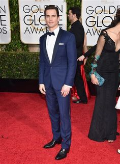 Matt Bomer arrives at the 72nd annual Golden Globe Awards at the Beverly Hilton Hotel in Beverly Hills, Calif., on Jan. 11, 2015.