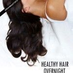 Overnight hair care - Wake Up with Perfect Healthy Hair #naturalskincare #skincareproducts #Australianskincare #AqiskinCare #australianmade