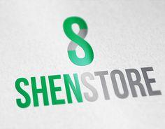"Logo for ""ShenStore"" Portfolio Logo, Working On Myself, New Work, Logo Design, Company Logo, Behance, Logos, Gallery, Check"