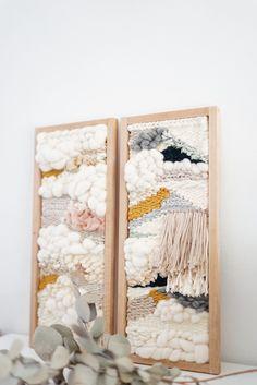 Tissage weaving by julie robert #loomweavingprojects