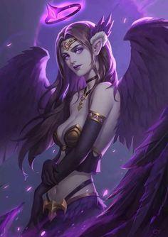 Dark female