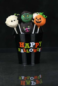 Cake pop co Halloween cake pops <3