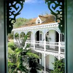 caribbean colonial. so relaxing yet traditional