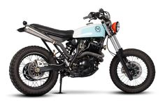 Dirty Geisha: XT600 by Maria Motorcycles of Portugal