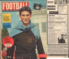 RIVISTA-CALCIO-FOOTBALL-SETTIMANALE ILLUSTRATO-2 FEBBRAIO 1961-ANGELILLO-BUFFON
