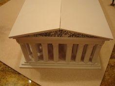 The Parthenon Athens Greece Model - Instructables Mykonos Greece, Crete Greece, Athens Greece, Parthenon Greece, Greece Party, Model Castle, Architectural Columns, Greek Isles, Greece Islands