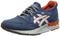 ASICS Gel-lyte V, Unisex-Erwachsene Sneakers, Blau (legion Blue/soft Grey 4510), 45.5 EU - http://herrentaschenkaufen.de/asics/asics-gel-lyte-v-unisex-erwachsene-sneakers-blau-5