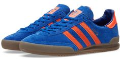 Adidas Jeans trainers in blue suede