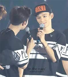 Suho & Chen being very subtle (1/2)