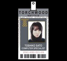Torchwood Gwen Cooper ID Shirt by zorpzorp Naoko Mori, Paper Doll House, Paper Dolls, Doctor Who Gifts, Everything Changes, Torchwood, Love Her, The Outsiders, Shirt