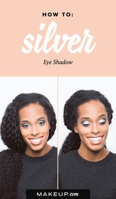 Silver Eyeshadow for