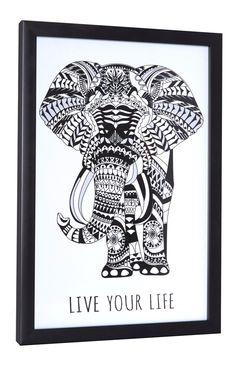 Primark - Cuadro con elefante