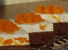 Tortulete cu chefir si mandarine Romanian Desserts, Russian Desserts, Romanian Food, My Favorite Food, Favorite Recipes, Kefir, Bakery, Sweet Treats, Cheesecake