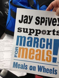 Support Meal on Wheels of Greenville! #MarchforMeals