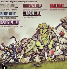 Complete guide to Brazilian jiu-jitsu belts/ all you need to know about belts. Read More about BJJ belt system rankings and other informations. Judo, Brazilian Jiu Jitsu Belts, Mma, Bjj Memes, Dragons, Ju Jitsu, Martial Arts Training, Mixed Martial Arts, Muay Thai