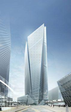 日建設計 『サウジアラビア証券取引所』 https://www.kenchikukenken.co.jp/works/1228371773/8553/ #architecture