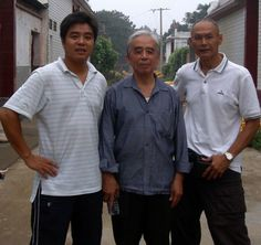 Chenjiagou village with Master Zhu xianyu