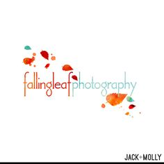 Logo Design/ Branding for Falling Leaf Photography by Jack and Molly Creative