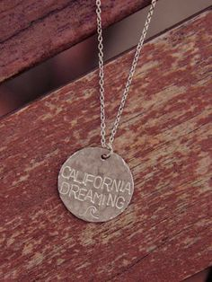 Silver California Dreaming Necklace.......Spencer!