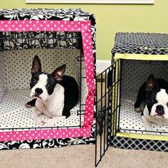 Dog Crate Bumper Pads {free pattern}