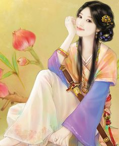 Traditional Chinese girl ~