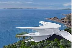Unique Architecture Mahina House Designed Themed Crescent   Kawau Island, about 60km north of Auckland New Zealand