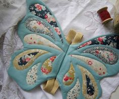 Wife-made Butterfly Wings in Tilda's Memory Lane