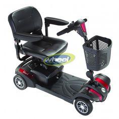 Το ηλεκτροκίνητο αμαξίδιο ειδικού τύπου Rascal Veo X είναι ισχυρό και εξαιρετικά ευέλικτο τόσο για εσωτερική όσο και για εξωτερική χρήση - ιδανικό για ταξίδια. Είναι πολύ εύκολο στη χρήση και αποσυναρμολόγηση του.