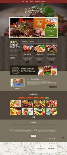 Template 54819 - Lone Star  Responsive Website Template