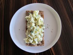 4. Egg White Salad | 8 Healthy And Delicious Take-To-Work Snacks