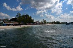 Seascape koh rong samloem island beach, Sihanoukville, Cambodia, Southeast Asia.