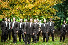 The groom and his groomsmen. | Polly and Payden's wedding at Polly's family home in Tazewell, VA. | Photography by Waldorf Photographic Art | Coordinated by Joy and Company| #WaldorfPhotographicArt #WeddingPhotography #SouthernWedding #FallWedding #WeddingInspiration