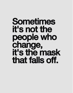 Masks hide more than a face!