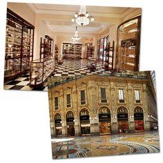 Galleria Vittorio Emanuele II, em Milão, nova sede da Prada (Foto: Divulgação)