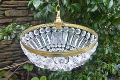 Antiques Atlas - Pair Of Mid 20th Century Purse Chandeliers