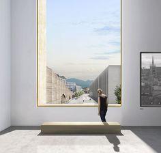 LOCALARCHITECTURE . Elysée-mudac Museum . Lausanne (5) #architectural #render #photoshop