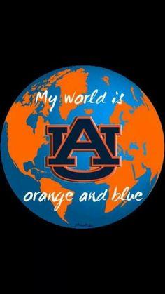 Fight on Orange and Blue