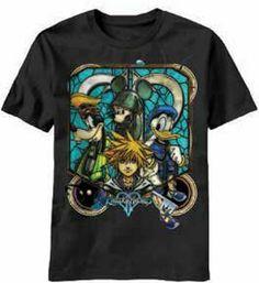 Kingdom Hearts Funny Hats T-shirt (XXL) ...