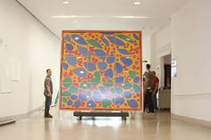 """""""Henri Matisse's Ivy in Flower—a full-scale maquette for a stained glass window made late in the artist's career"""" - Dallas Museum of Art Matisse Cutouts, Matisse Art, Henri Matisse, Famous Art Pieces, Cobra Art, Summer Art Projects, Sunflower Art, Interior Rendering, Unique Paintings"""