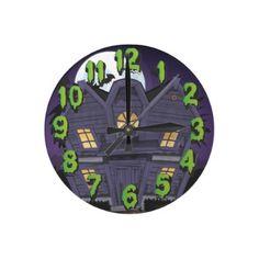 Haunted House AcryliPrint®HD Wall Clock