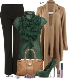 """""""To the Office"""" by exxpress ❤ liked on Polyvore"""