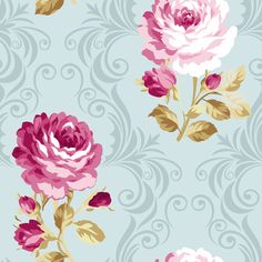 See my fabric designs available on spoonflower.com Floribunda-Romance fabric by wrapartist on Spoonflower - custom fabric
