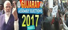 गुजरात चुनाव रूझानों में बीजेपी पहली बार 100 के पार, नीचे आई कांग्रेस | रिपोर्ट4इंडिया