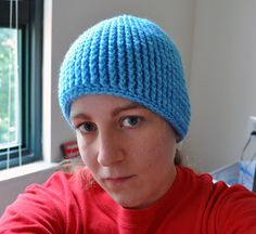 Total FPDC hat (Use an I hook for the body and finish with an H, otherwise hat is huge)