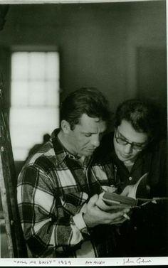 Jack Kerouac and Allen Ginsberg, 1959